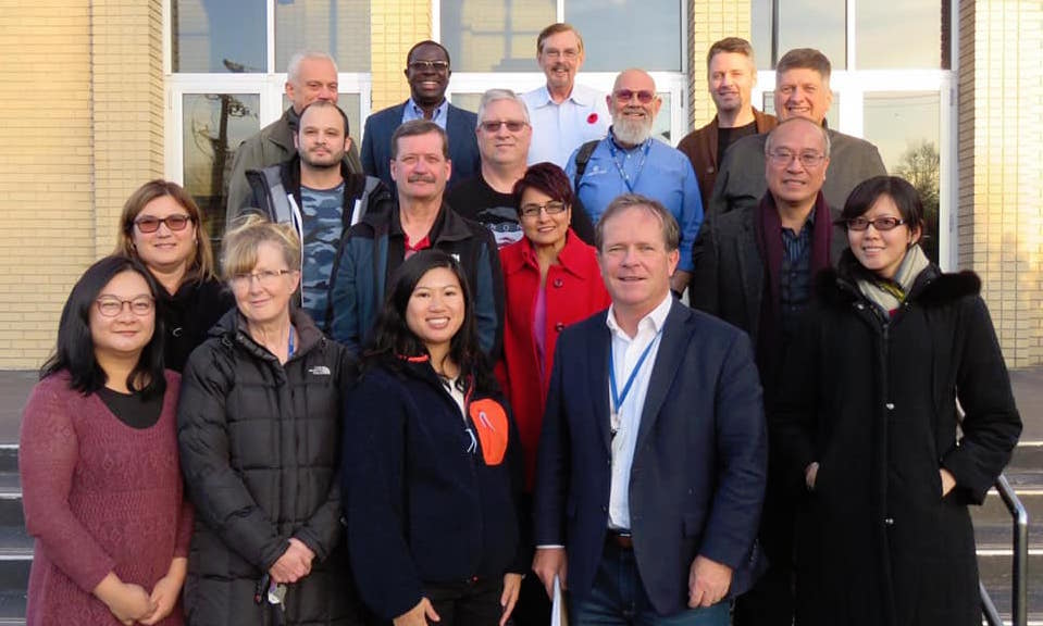 ISMC National Team and the Board of Directors met for our annual Leadership Retreat in Regina.